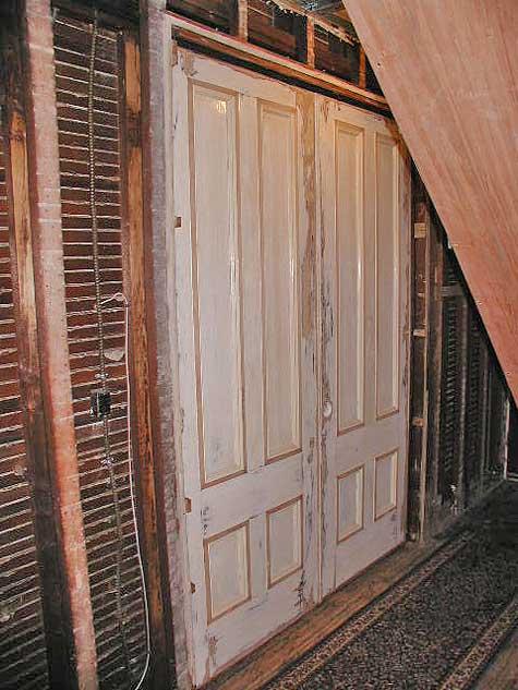 Epic Repair 2 Pocket Doors Hemmed In On All Sides