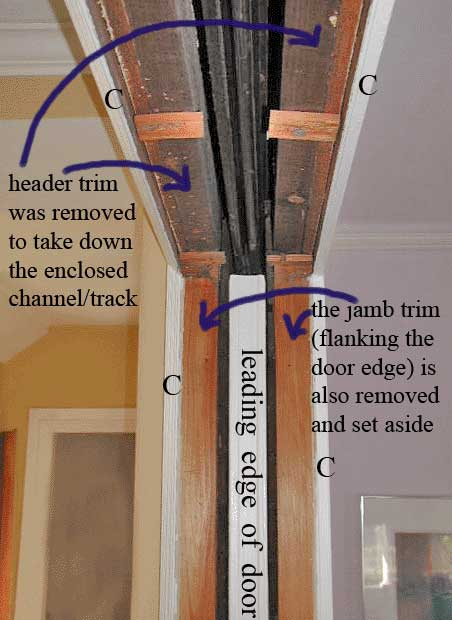 Ordinaire Fix Pocket Door Off Track Images
